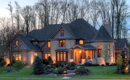 Sareth builders designs and builds custom high end for Home builders in ohio