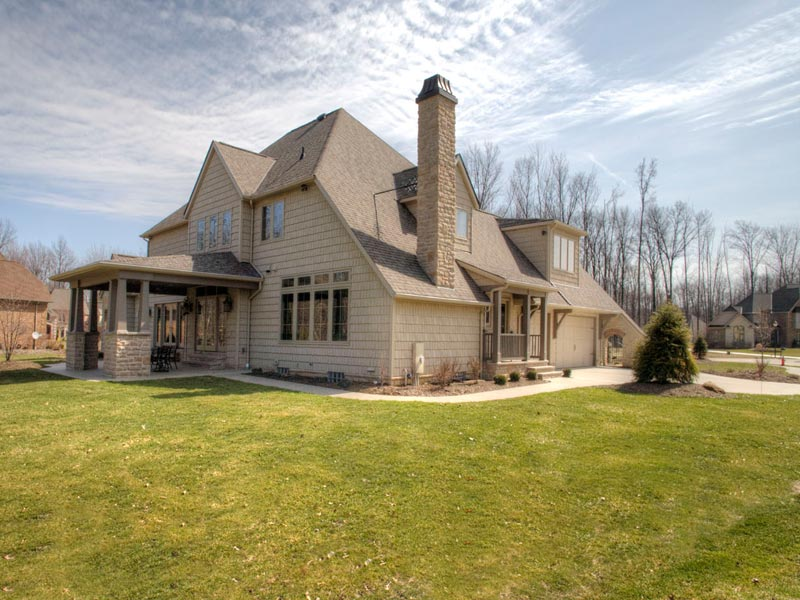 Custom Luxury Home Sareth Builders Westlake Ohio The